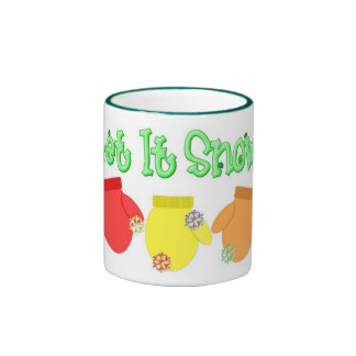 KRW Let It Snow Mittens Mug - Green
