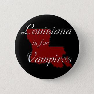KRW Louisiana is for Vampires 6 Cm Round Badge
