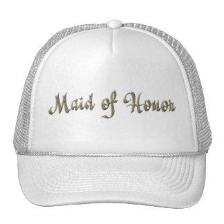 KRW Maid of Honor Wedding Party Hat