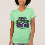 KRW Mardi Gras Mask and Beads T-Shirt