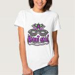KRW Mardi Gras Mask and Beads T Shirts