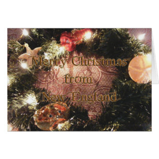 KRW Merry Christmas from New England Card