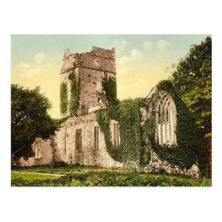 KRW Muckross AbbeyKilarney Ireland Vintage Postcar Postcards