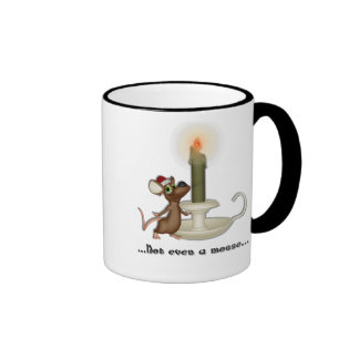 KRW Not Even a Mouse Holiday Coffee Mug
