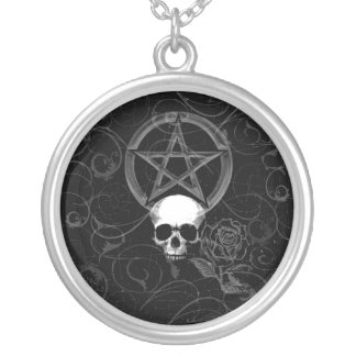 KRW Pagan Grunge Sterling Silver Necklace
