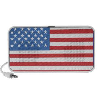 KRW Patriotic American Flag Speaker