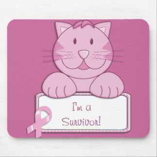 KRW Pink Ribbon survivor Mouse Mat