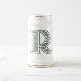 KRW - R - Celtic Monogrammed Stein