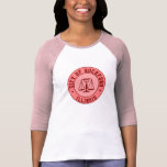 KRW Rockford Peach Baseball Emblem Shirt