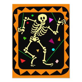 KRW Skeleton Celebration Halloween Party Invite