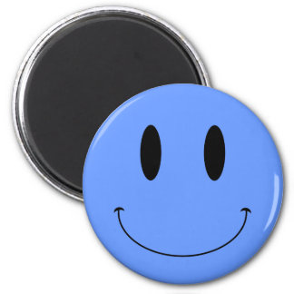 KRW Smiley Face Custom Color 6 Cm Round Magnet