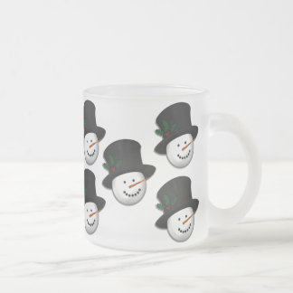 KRW Snowman Frosted Mug
