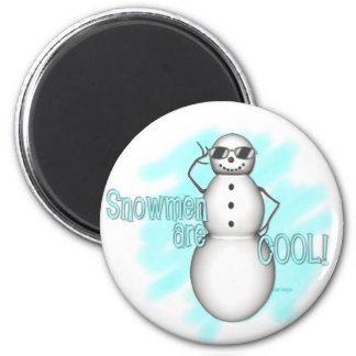 KRW Snowmen Are Cool Cute Magnet