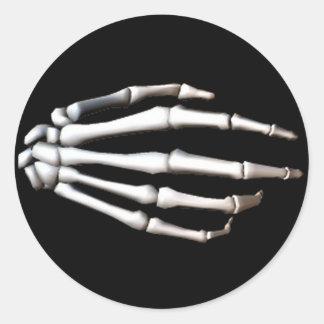 KRW Spooky Skeletal Hand Halloween Sticker