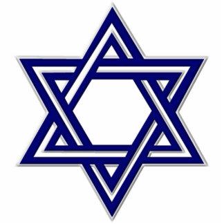 KRW Star of David Hanukkah Ornament Acrylic Cut Out