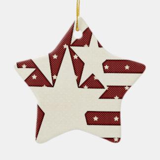 KRW Stars and Stripes Keepsake Ornament