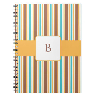 KRW Summer Breeze Custom Monogram Notebook