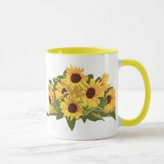 KRW Sunflowers Coffee Mug