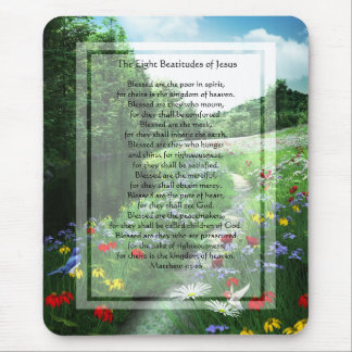 KRW The Eight Beatitudes of Jesus Mouse Pad