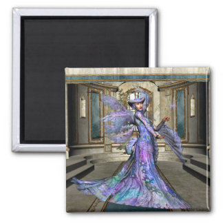 KRW The Fairy Godmother Square Magnet
