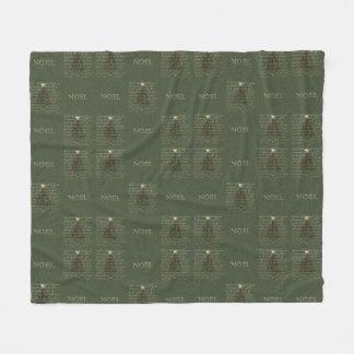 KRW The First Noel Fleece Christmas Blanket Fleece Blanket
