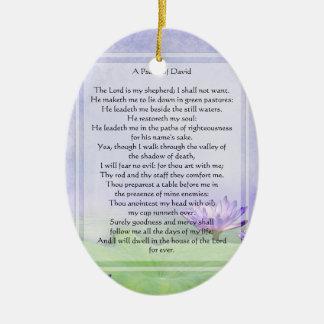 KRW The Lord is My Shepherd Psalm 23 Ornament