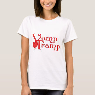 KRW Vamp Tramp Blood Dripping Heart T-Shirt