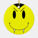 KRW Vampire Smilie Face Double Sided Ornament