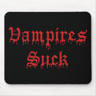 KRW Vampires Suck Dripping Blood Mouse Mat
