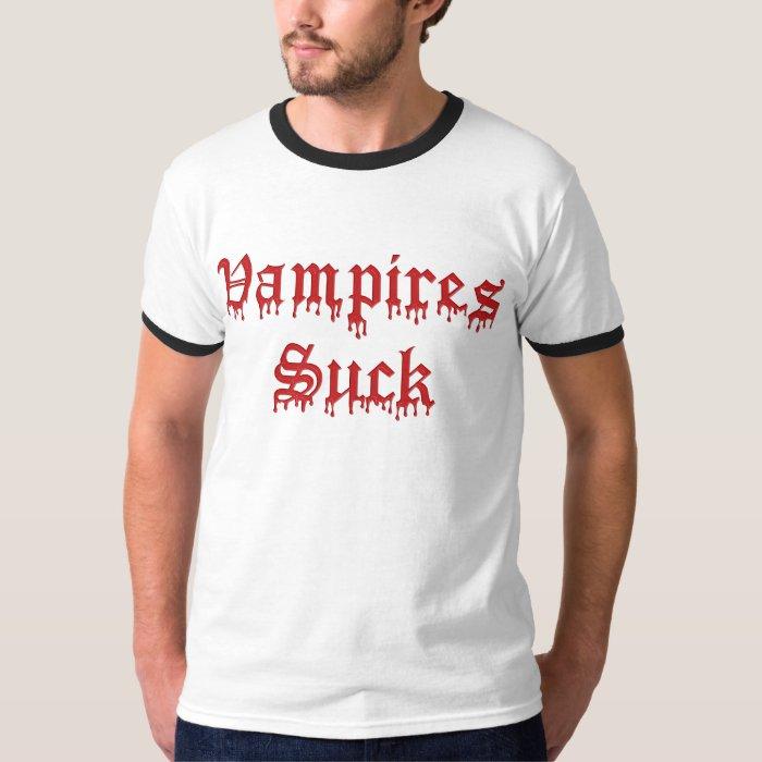 KRW Vampires Suck Dripping Blood T-Shirt