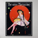 KRW Vintage 1921 Theatre Magazine Cover Print