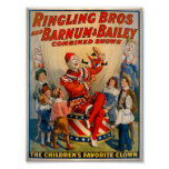 KRW Vintage Circus Clown