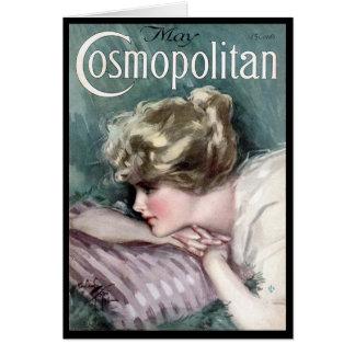 KRW Vintage Cosmopolitan 1915 Blank Card