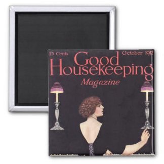 KRW Vintage Good Housekeeping 1912 Magnet