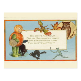 KRW Vintage Halloween - Customized Postcard
