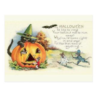 KRW Vintage Halloween Postcards