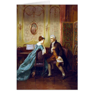 KRW Vintage The Proposal 1873 Card