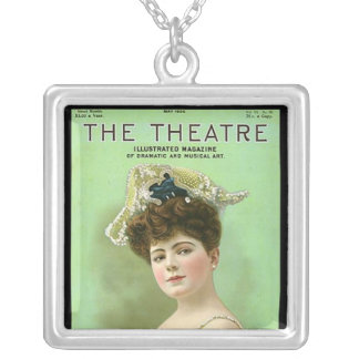 KRW Vintage Theater Mag Sterling Silver Necklace