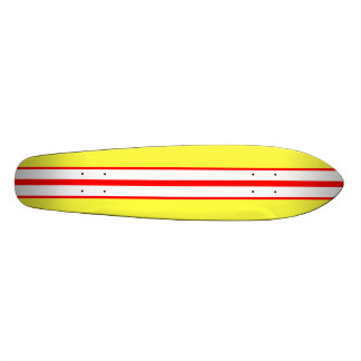 KRW Vintage Yellow Surf Style Skate Board