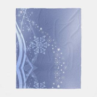 KRW Winter Wonderland Holiday Fleece Blanket