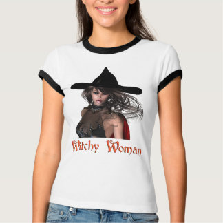 KRW Witchy Woman Halloween T-shirt