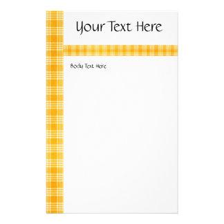 KRW Yellow Check Medium Flyer Template
