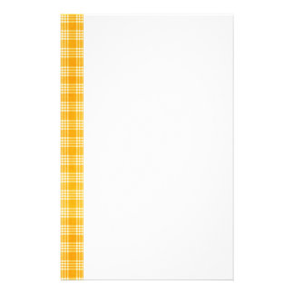 KRW Yellow Check Stationery