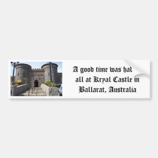 Kryal Castle in Ballarat Australia Bumper Sticker