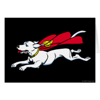 Krypto the dog card