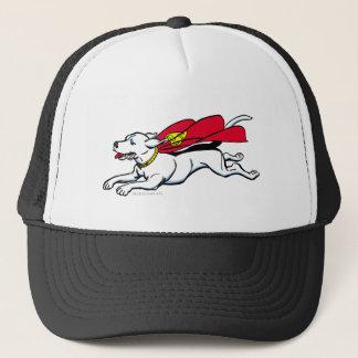 Krypto the dog trucker hat