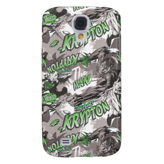 Krypton Green and Grey Galaxy S4 Case
