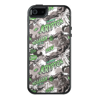 Krypton Green and Grey OtterBox iPhone 5/5s/SE Case