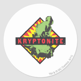 Kryptonite Classic Round Sticker