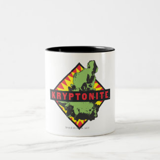 Kryptonite Two-Tone Coffee Mug